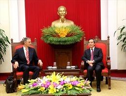 Trưởng Ban Kinh tế TW Nguyễn Văn Bình tiếp Đoàn chuyên gia IMF