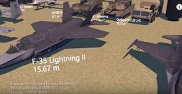 Choáng trước quy mô khủng của cỗ máy chiến tranh Mỹ