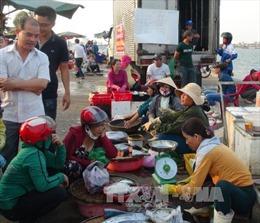 """Khảo sát vùng biển """"cá xếp lớp"""" ở Nhân Trạch, Quảng Bình"""