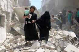 Khủng bố tập kết vũ khí hóa học gần Aleppo