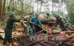 Dân Quảng Bình thiệt hại vì mưa lớn, lốc xoáy