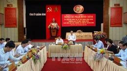Trưởng ban Tổ chức Trung ương làm việc tại tỉnh Quảng Bình