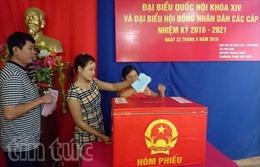 Nhiều đơn vị bầu cử ở Thạch Thất về đích sớm
