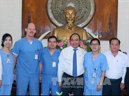 Thủ tướng tiếp Đoàn bác sỹ thiện nguyện Đại học Mercer Hoa Kỳ