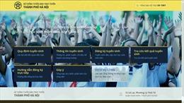 Ngày đầu tuyển sinh trực tuyến ở Hà Nội: Đường truyền chưa đảm bảo