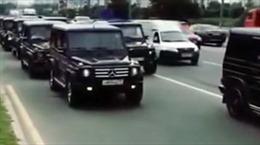 """""""Nóng mắt"""" với dàn xe sang của học viên cảnh sát mật Nga"""