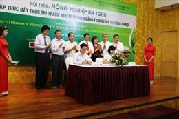 """Agribank và Vingroup ký kết """"Về đầu tư phát triển nông nghiệp an toàn, bền vững"""""""