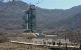 """""""Chuyển động đáng ngờ"""" tại khu thử hạt nhân Triều Tiên"""