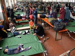 Du khách Trung Quốc bị đưa vào trại tị nạn Đức