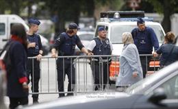Cảnh sát Bỉ tiêu diệt một đối tượng mang vũ khí