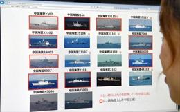 Nhật Bản đăng video tàu Trung Quốc xâm phạm lãnh hải