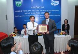 Pfizer đồng hành cùng Đại học Y khoa Phạm Ngọc Thạch