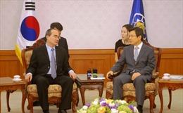 Ông Nguyễn Thiện Nhân tiếp tục chương trình làm việc tại Hàn Quốc