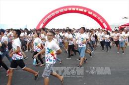 3.000 người trẻ hào hứng tham gia Giải chạy sắc màu tại Hà Nội