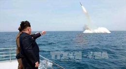 Mỹ xác nhận Triều Tiên phóng tên lửa đạn đạo từ tàu ngầm