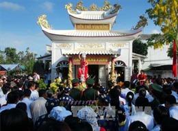 Xây dựng Đền thờ các Vua Hùng tại Cần Thơ