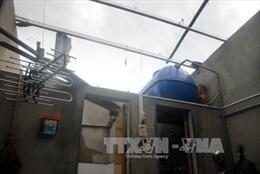 Lốc xoáy làm tốc mái hơn 30 ngôi nhà tại Quảng Bình