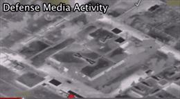 12 chiến đấu cơ Mỹ hợp lực dội bom kho vũ khí hóa học IS
