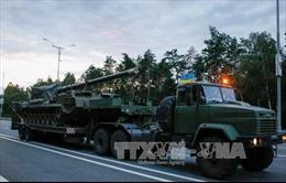 Chính phủ Ukraine nhất trí thực thi ngừng bắn ở miền Đông