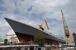 Ấn Độ hạ thủy tàu chiến tàng hình hiện đại