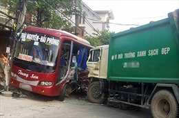 Tai nạn liên hoàn trên Quốc lộ 3, 1 người chết