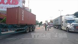 Va chạm xe container, 2 người thiệt mạng
