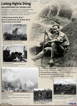 Lương Nghĩa Dũng - Nhà nhiếp ảnh của Trường Sơn