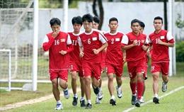 Tuyển Việt Nam sẵn sàng cho VCK U19 châu Á 2016