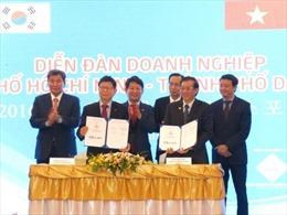 Hơn 1.260 dự án của Hàn Quốc đầu tư tại TP HCM