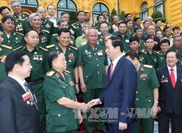 Chủ tịch nước gặp gỡ đại diện cựu chiến binh làm kinh tế giỏi