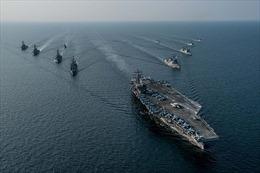 CVN 76 lần đầu vào Hoàng Hải, đối đầu Mỹ-Trung sắp bùng lên?