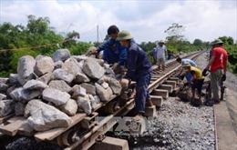 Chiều nay thông đường sắt Bắc-Nam qua Quảng Bình
