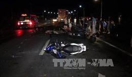 Ô tô khách gây tai nạn liên hoàn, 2 người thương vong