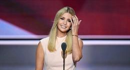 """Ivanka Trump - """"ngôi sao"""" thực sự của nước Mỹ"""