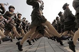 Triều Tiên nâng cao năng lực chiến đấu của các nữ xạ thủ