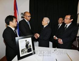 Việt Nam để tang đồng chí Fidel Castro với nghi thức Quốc tang