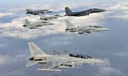 Không quân Hàn-Mỹ tập trận quy mô lớn