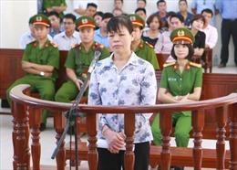 Y án sơ thẩm đối với bị cáo Cấn Thị Thêu