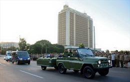 Xúc động hình ảnh tiễn đưa lãnh tụ Fidel Castro về với đất Mẹ
