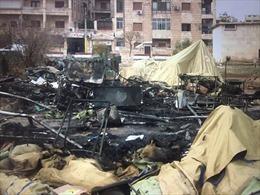 Pháo kích bệnh viện ở Aleppo, nhân viên y tế Nga thiệt mạng