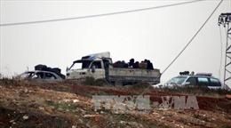 Phe nổi dậy Syria đạt thỏa thuận mới về sơ tán khỏi Aleppo