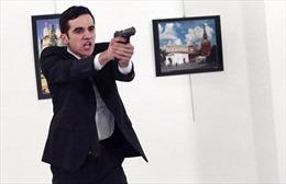 Hiện trường vụ ám sát Đại sứ Nga tại Thổ Nhĩ Kỳ