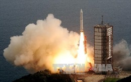 Nhật Bản phóng thành công tên lửa sử dụng nhiên liệu cứng tân tiến