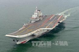 Nhật Bản phát hiện tàu sân bay Trung Quốc trên biển Hoa Đông