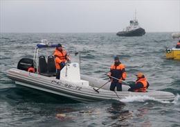 Tai nạn máy bay Tu-154: Trục vớt phần thân, chưa tìm thấy hộp đen