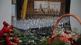 Đoàn văn công quân đội Nga không hủy lịch diễn ở Séc sau vụ rơi Tu-154