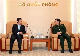 Đại tướng Ngô Xuân Lịch tiếp Thứ trưởng Bộ Quốc phòng Hàn Quốc