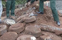 Xử lý hầm đạn pháo giữa khu dân cư tại Đắk Lắk