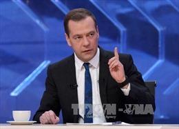 Thủ tướng Medvedev chỉ trích hành động chống Nga của Mỹ