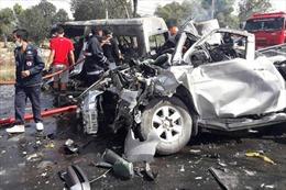 Tai nạn giao thông nghiêm trọng tại Thái Lan, 25 người thiệt mạng